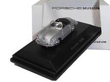 Porsche 356B plata - Welly 1:87 - MAP02390112 - nuevo