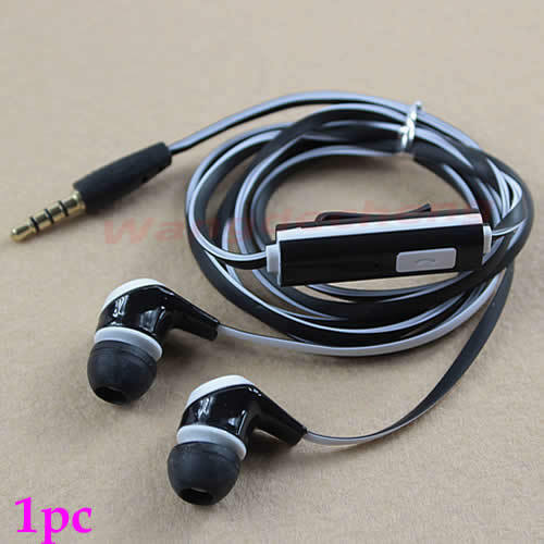 3.5mm Stereo In-ear Earphone Headset Earbuds With Mic for Mobile Phone BKW
