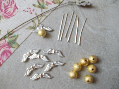 6 x Make your own Golden Snitch Tibetan Silver//Gold Charms,Harry Potter Inspired