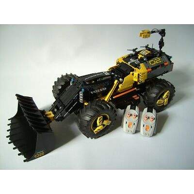 RBi Bauanleitung 42081 RC Volvo ZEUX Eigenbau MOC aus LEGO® Stein Power Function