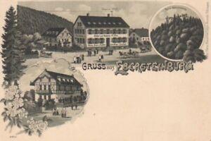Ebersteinburg Litho Hotel zur Krone ngl 83.063