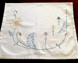 VINTAGE-EMBROIDERED-WHITE-COTTON-NIGHTDRESS-CASE-CUSHION-COVER