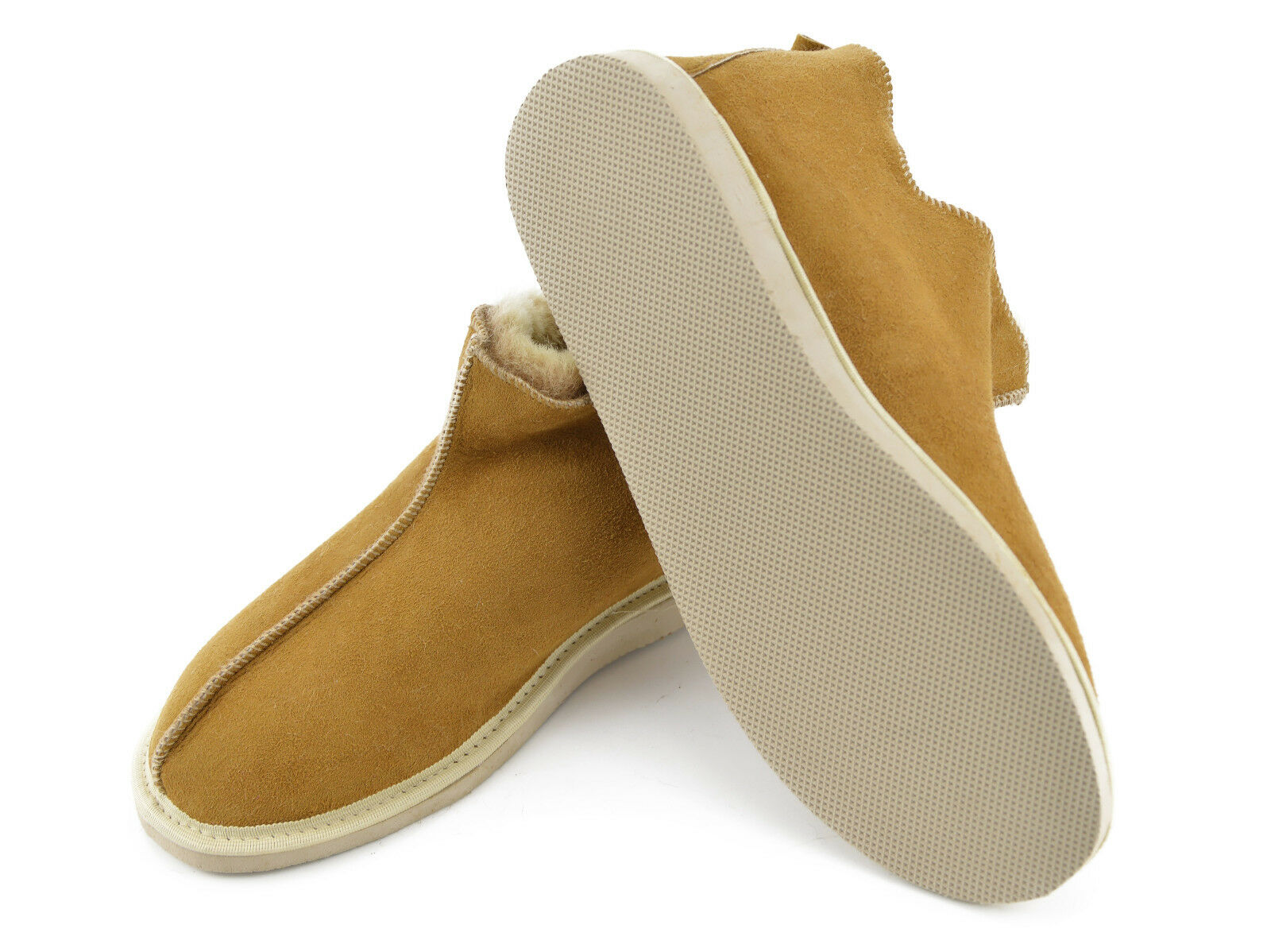 Sheepskin Slipper House Schuhes for Moccasin with sole,100% natural for Schuhes Men and Damens 96c436