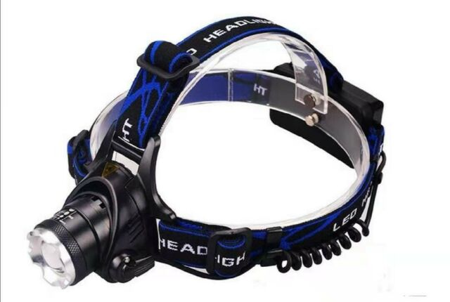 Zooomable Head Torch LED Headlamp 800 Lumens Camping Light
