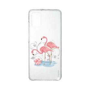 Coque pour Samsung Galaxy A31 souple Flamant rose