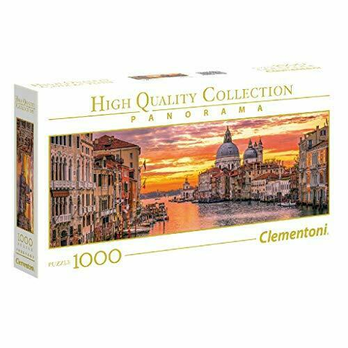 2862120-Clementoni Collection Panorama Puzzle The Grand Canal-Venice 1000 Pezzi
