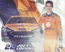 "2017 JOEY LOGANO ""AUTOTRADER"" #22 NASCAR MONSTER ENERGY CUP POSTCARD"