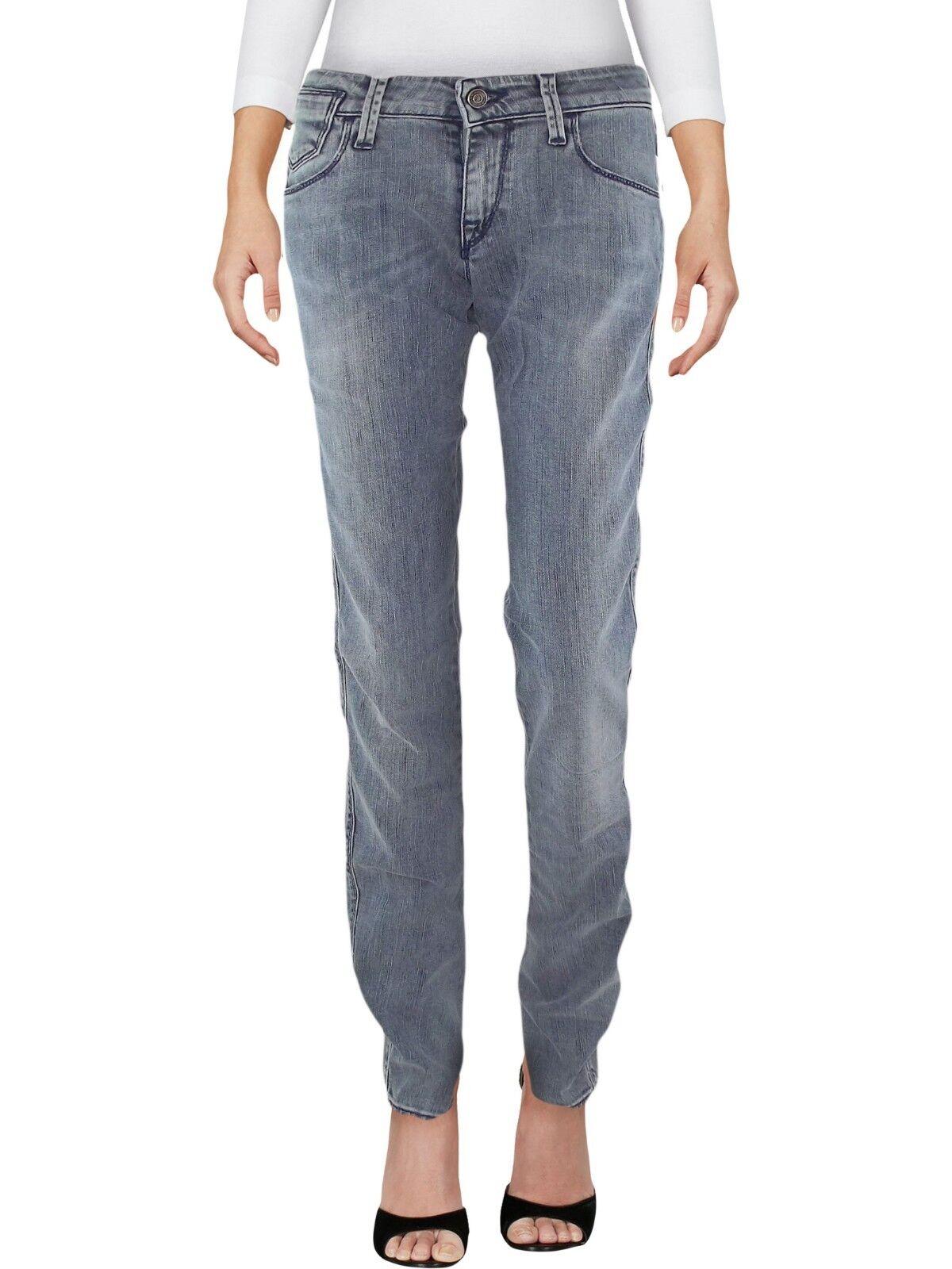 Armani jeans donna slim fit blu denim taglia it 40 42 w 26 28