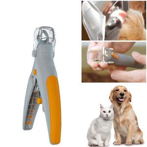 Pet-Nail-Care-Tondeuse-Toilettage-Outil-pour-animaux-chat-chien-avec-lumiere-DEL-sanitaire