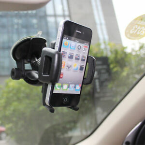 Universal Car Windshield Suction Cup Mount Holder for iPhone 6 7 8 X Cell Phone 636391129763