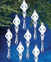 The Beadery Frosted Crystal Dangler Beaded Ornaments on sale