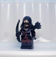 A1341 Lego CUSTOM Arrow Flash INSPIRED NYSSA AL GHUL MINIFIG Ra's Batman CANARY