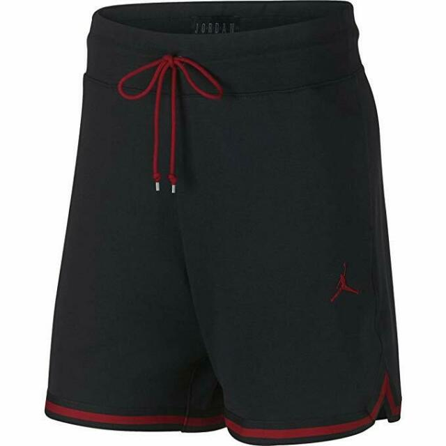 45a67590db5b Jordan Wings Lite 1988 Fleece Short Mens Aj0438-010 Black Red Shorts ...