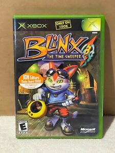 Blinx The Time Sweeper for Microsoft Xbox 2002 Brand New Sealed Free Shipping