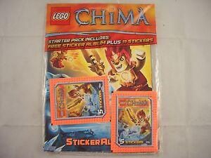 Topps-Lego-Chima-Sticker-Album-Sealed-Empty