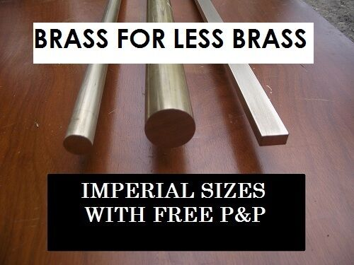 BRASS FLAT BAR FOR MODEL ENGINEERING
