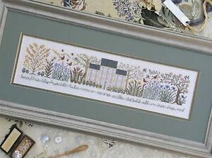 The-Spring-Garden-The-Drawn-Thread-New-Cross-Stitch-Chart