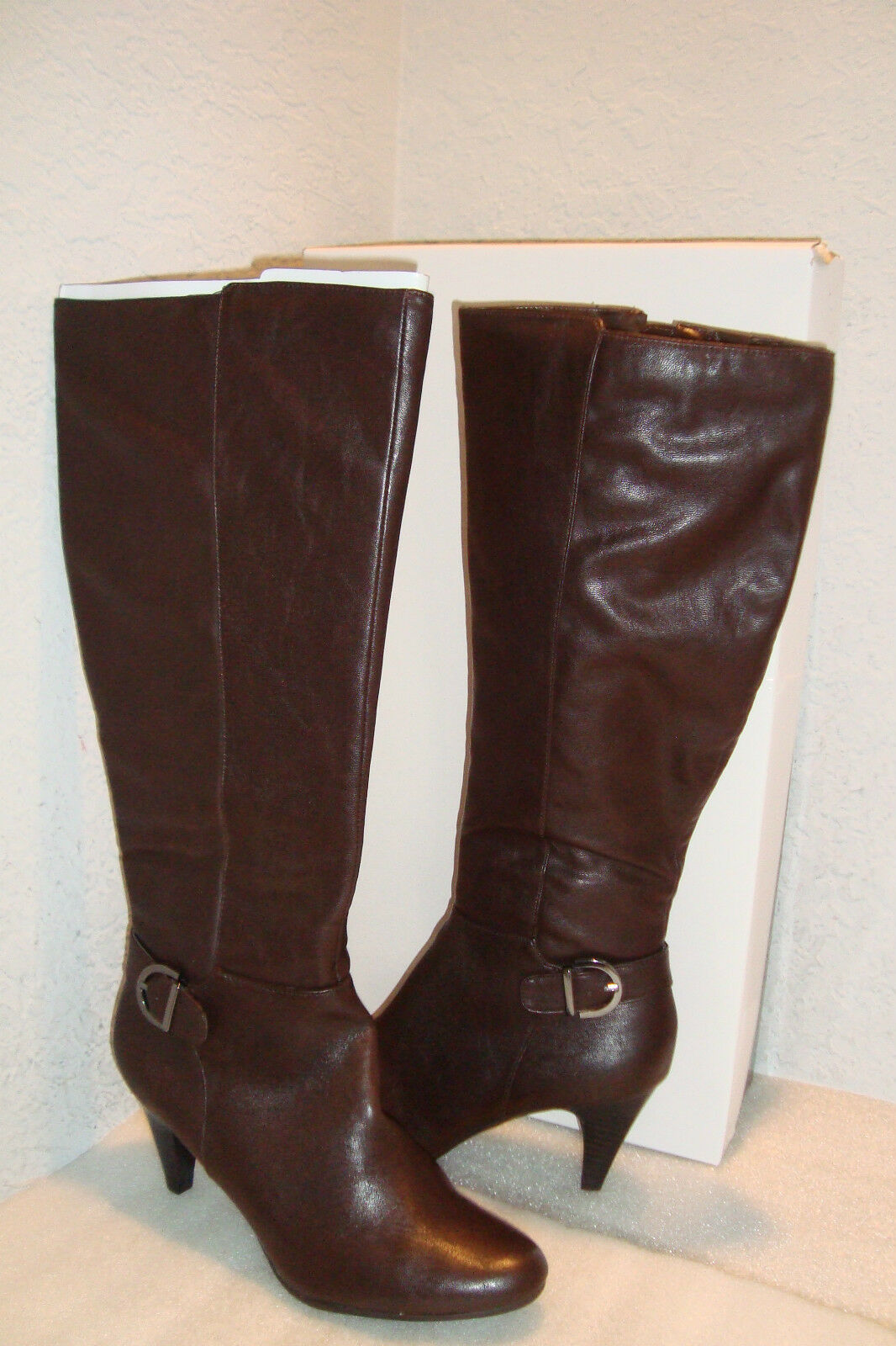 Alfani Damenschuhe NWB Jeanna Dark Braun Stiefel Schuhes 9.5 MED NEU