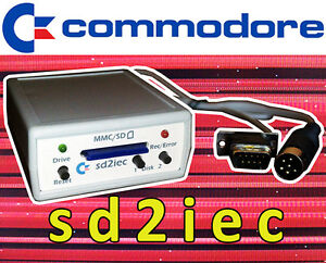 SD2IEC-SD-Card-Reader-for-Commodore-64-1541-Disk-Drive-Emulator-C64-C128-VIC