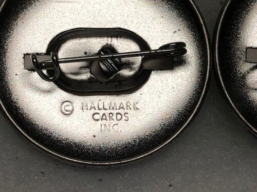 NOS! 1983 Lot Of 2 Vintage Rainbow Brite Metal Pin Button Hallmark