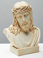 Jesus Bust Ivory Color, New, Free Shipping