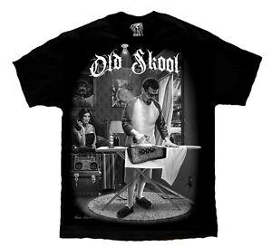 Old-School-Cholo-Gangster-Lowrider-Chicano-Art-David-Gonzales-DGA-T-Shirt