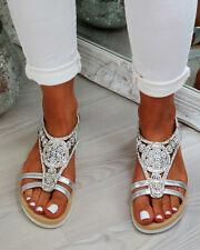 eb4a5e744 item 1 New Womens Flatform Sandals Embellished Slingback Comfy Holiday  Shoes Sizes 3-8 -New Womens Flatform Sandals Embellished Slingback Comfy  Holiday ...