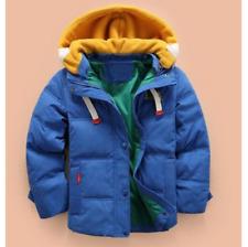 Winter children/'s clothing boys hooded down jacket coat Baby down jacket @USL