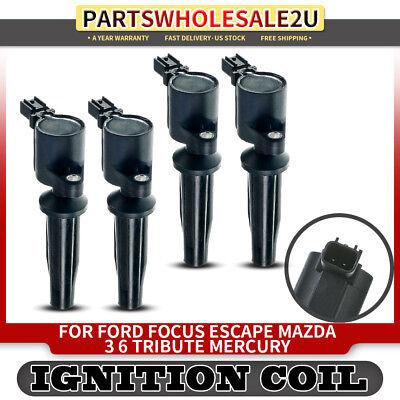 BRAND NEW IGNITION COIL FOR FORD FOCUS ESCAPE MAZDA 3// 6  MERCURY 2.0L 2.3L