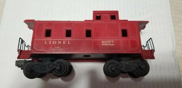 Vintage 1950s Lionel 6257 Tile Red Sp