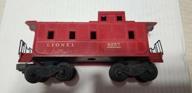 Vintage 1950s Lionel 6257 Tile Red Sp