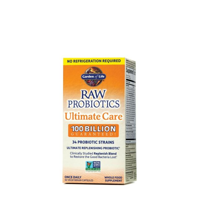 Garden Of Life RAW Probiotics Ultimate Care Shelf Stable