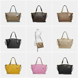 cb4ce4d8d0495 Image is loading NEW-Coach-Small-Kelsey-Satchel-In-Pebble-Leather-