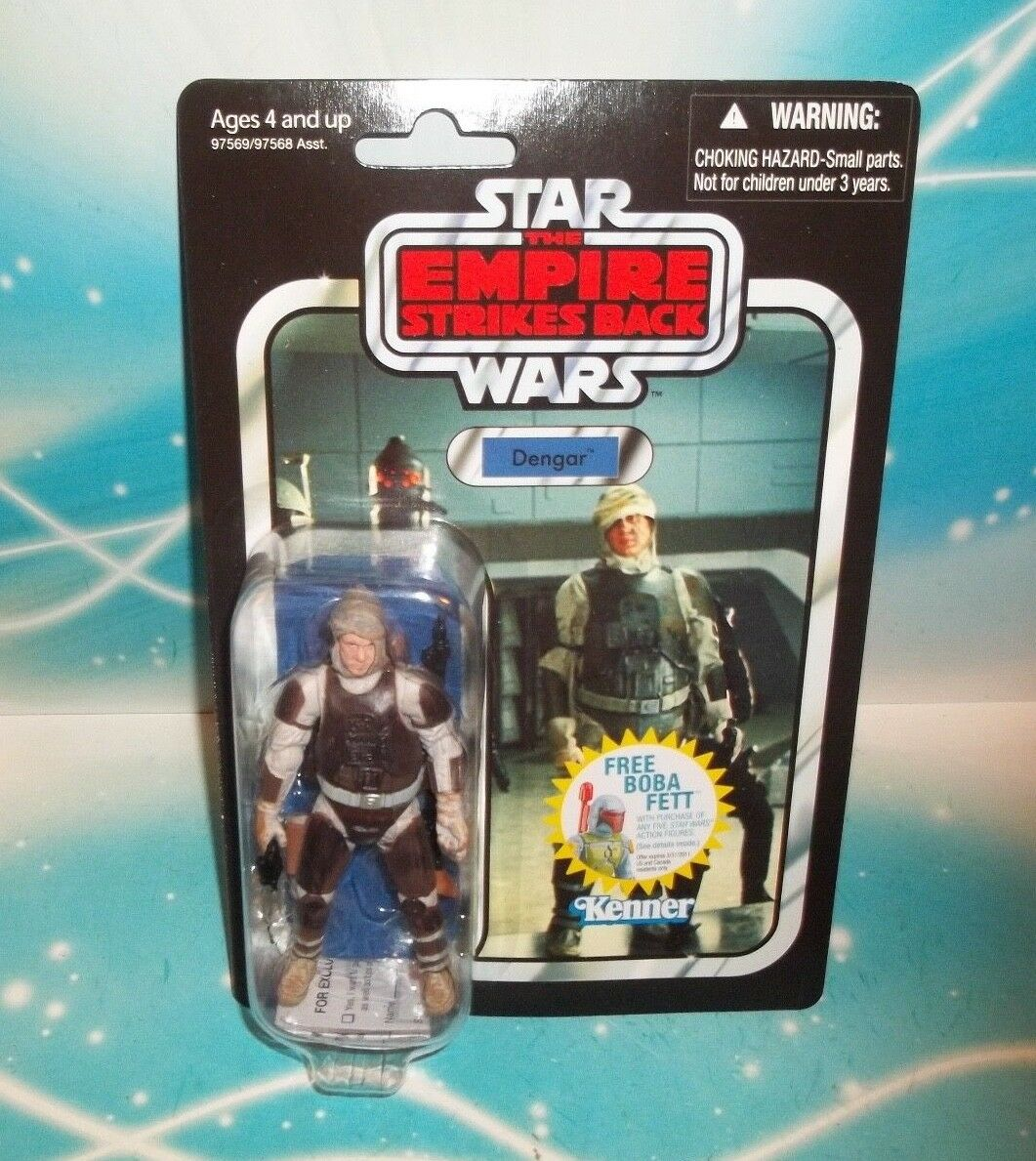 STAR WARS VINTAGE COLLECTION VC-01 ESB EXECUTOR BOUNTY HUNTER DENGAR FIGURE