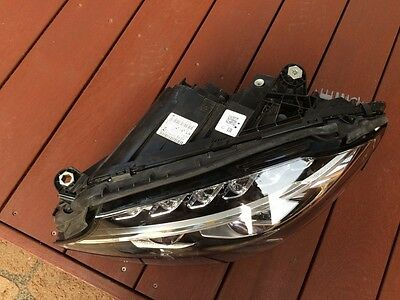 MERCEDES C CLASS W205 2015 INTELLIGENT LIGHT SYSTEM XENON LEFT HEADLIGHT HEAD