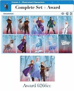 Topps-Disney-Collect-Frozen-2-Illustrated-Characters-Complete-Set-Award