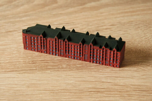 Memoria città di Amburgo blocco P 1:1250 per modelli nave