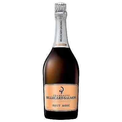 Billecart-Salmon Brut Rose bottle Chardonnay Pinot Noir Pinot Meunier Wine 750mL