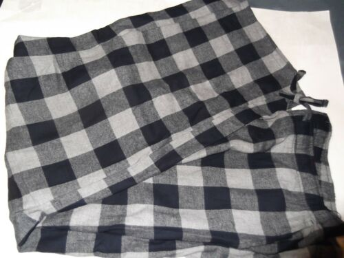 OLD NAVY Navy//Gray Buffalo Plaid FLANNEL SLEEP LOUNGE PANT PAJAMAS men XL or XXL