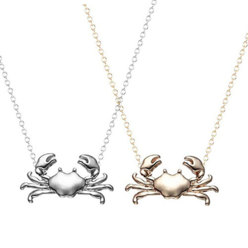 Long Mignon St Valentin Pendentif Animal Bijoux Femmes Filles crabe collier