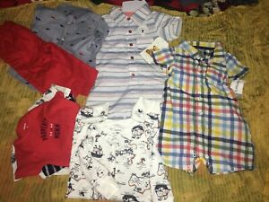 Baby Boy 6to12 Months Spring Summer Sets Clothes Outfits Lot Ebay