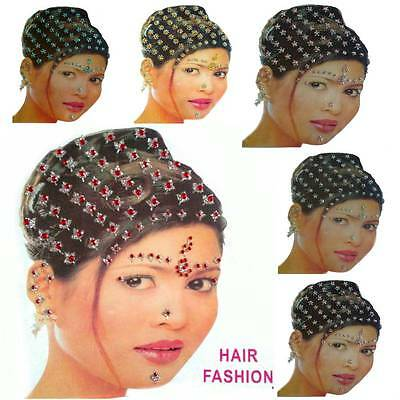 Bindi Bindis Bollywood Stirnschmuck Tikka Body Sticker Körper Schmuck Orient
