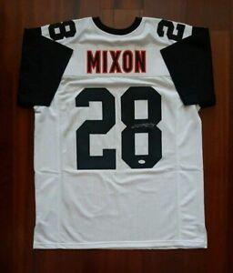 Details about Joe Mixon Autographed Signed Jersey Cincinnati Bengals JSA