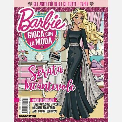 Collezione Barbie n° 44 ABITO STILE OLD HOLLYWOOD Gioca con la Moda