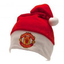 Manchester United Fc Man Utd Supersoft Natale Novità Babbo Elfo Cappello