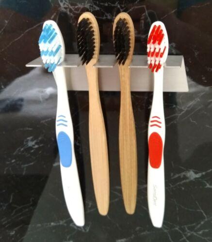 Aufsteckbürsten oral b Philips Edelstahl Zahnbürstenhalter für 4 Zahnbürsten