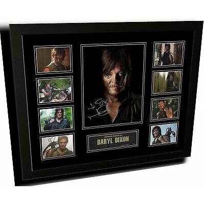 THE WALKING DEAD DARYL DIXON SIGNED LIMITED EDITION FRAMED MEMORABILIA