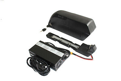 Exclusive 36V 15AH Ebike Down Tube Polly OEM Cell Li-ion Battery 5A Charger