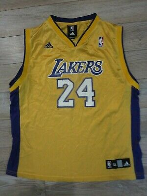 Kobe Bryant #24 Los Angeles LA Lakers NBA adidas Jersey Youth XL 18-20 | eBay