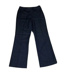 Petite-Sophisticate-Women-s-Size-4-Pants-Navy-Blue-Bootcut-Mid-Rise-Rayon-Blend
